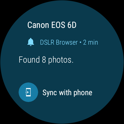 Canon DSLR Browser- screenshot