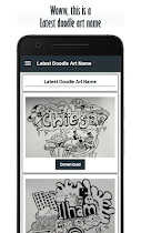 Latest Doodle Art Name - screenshot thumbnail 01