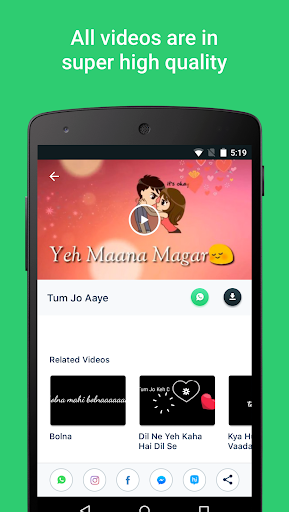 Video Songs Status (Lyrical Videos) for PC