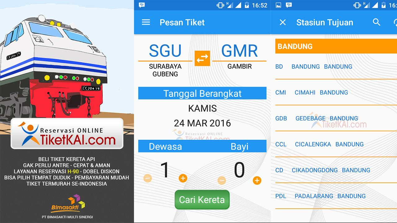 TiketKAI Mobile- screenshot