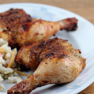 Grilled Dry Rub Chicken.
