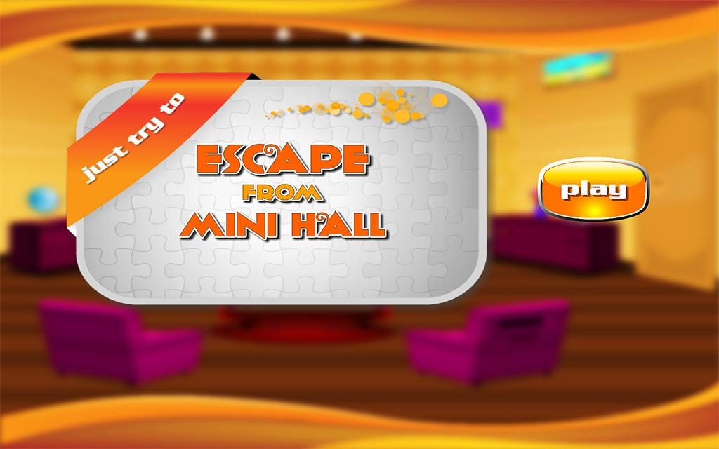 Escape From Mini Hall- screenshot