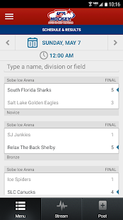 USA Hockey Adult Events- screenshot thumbnail