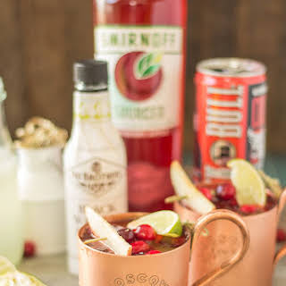 Cranberry Apple Moscow Mule.