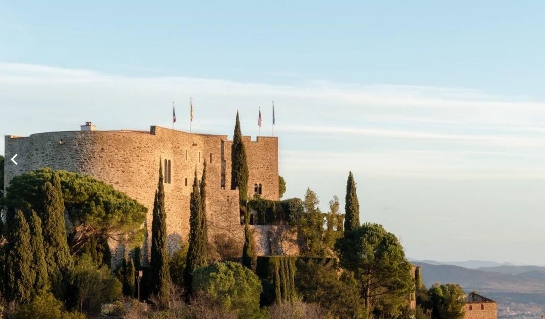 Château classé monument historique Perpignan