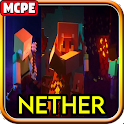 Nether Mod (Netherite Update) Mod for Minecraft PE icon