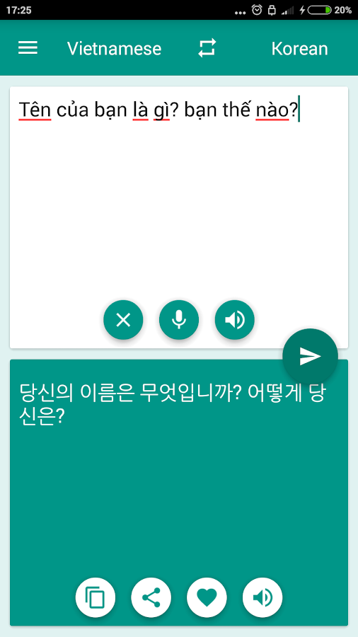 Korean-Vietnamese Translator- screenshot