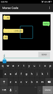 Morse Code Communicator screenshot 0