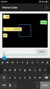 Morse Code Communicator screenshot 0