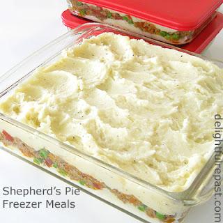 Shepherd's Pie Freezer Meals