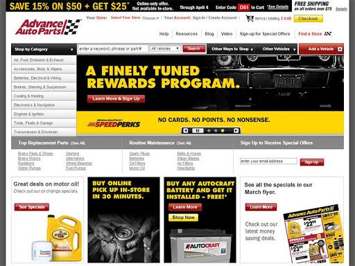 Advance Auto Parts Shop