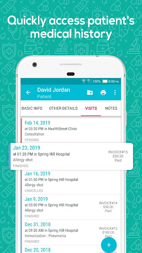 Doctor At Work (Plus) - Patient Medical Records 1.37.0 screenshots 5