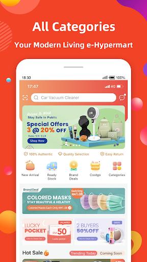Fingo - Online Shopping Mall & Cashback Official Apk 2