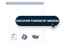 Discover Funding By Mission in Grant Map