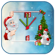 Christmas Analog Clock LWP