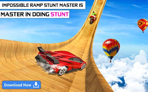 Mega Stunt Car Race Game - Free Games 2020 3.4 screenshots 7