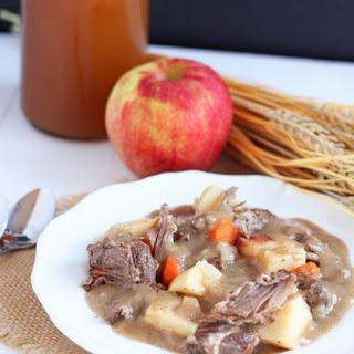 Crock Pot Apple Cider Beef Stew