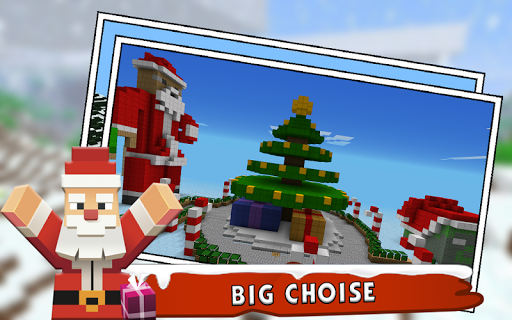 Christmas Maps for MInecraft