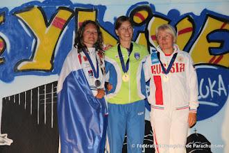 Photo: Déborah Ferrand, Vice-Championne du Monde 2014 en PA et au général, Banjaluka 2014
