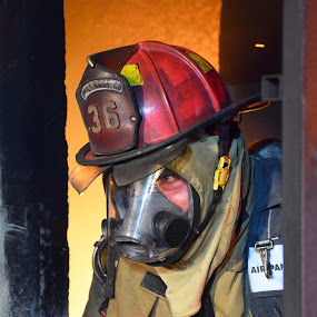 by Ashley Walters - People Professional People ( firefighter, firefighters, fire fighter, firemen, fire truck )