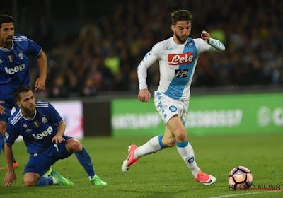 Napoli- Juventus werd 1-1 met assist van Dries Mertens