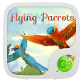 Flying Parrot Keyboard Theme