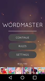 Wordmaster - náhled