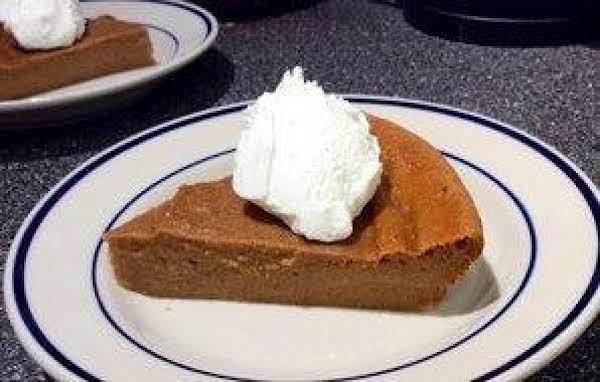 Self-crusting Pumpkin Pie Recipe