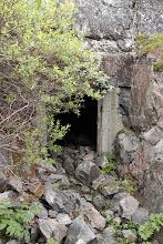 Photo: Вход в пещерный госпиталь горных егерей ,во всём у них был основательный подход.