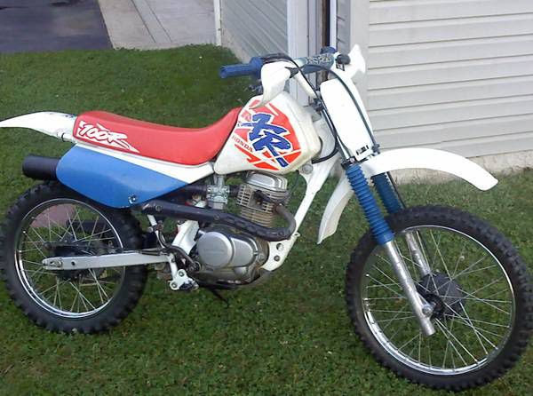 Honda XR 100-manual-taller-despiece-mecanica