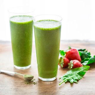 Super Green Tea Antioxidant Smoothie.