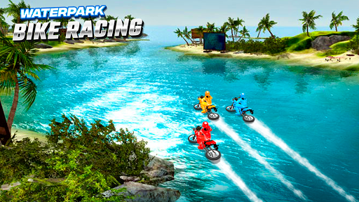 Waterpark Bike Racing 1.0 screenshots 3