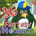 Fantasy Mosaics 36: Medieval Quest icon