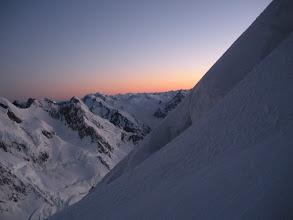 Photo: Dawn above the Linda.