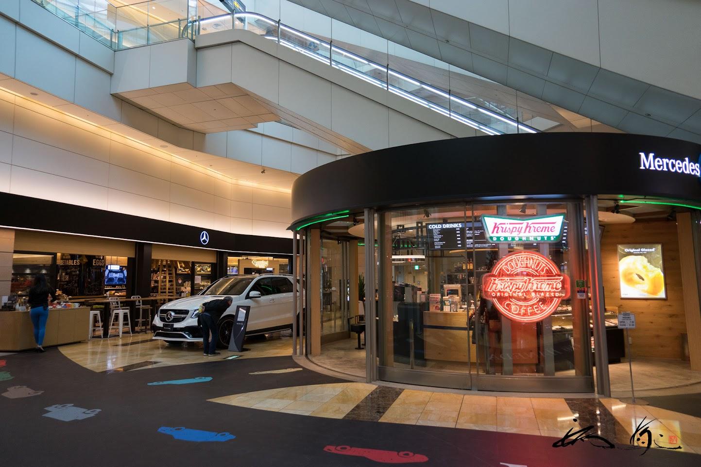 クリスピー・クリーム・ドーナツ(Mercedes me Tokyo HANEDA店)