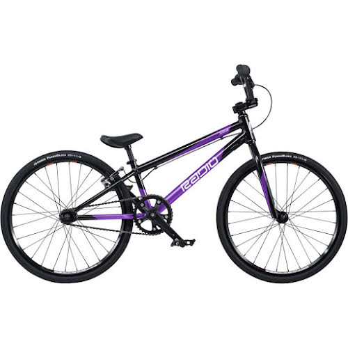 "Radio 2020 Xenon Junior BMX Race Bike - 18.5"" TT, Black/Metallic Purple"
