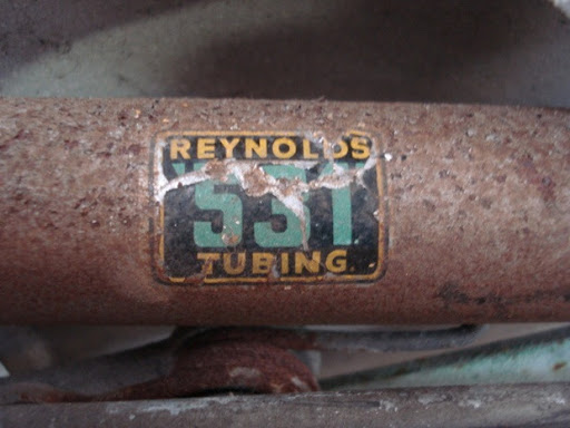 Etiquette tube Reynolds 531