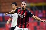 """Zlatan zet op zijn 39ste Milanese stadsderby naar zijn hand: """"Als ik de conditie had van iemand van twintig of dertig jaar zou ik voor niemand te stoppen zijn. Maar goed, dat kunnen ze nu ook niet."""""""
