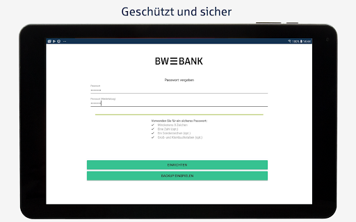 BW-Mobilbanking mit Smartphone und Tablet  screenshots 8