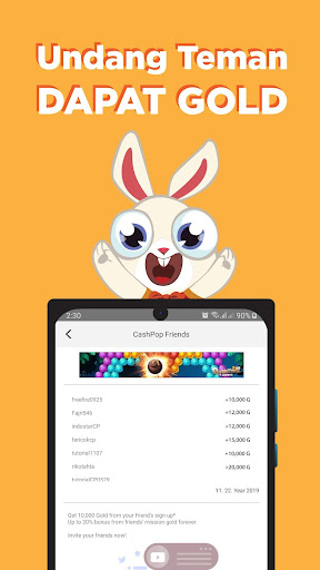 CashPop - Main Hape Dibayar!  screenshots 23