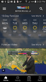 WAFB First Alert Weather- screenshot thumbnail
