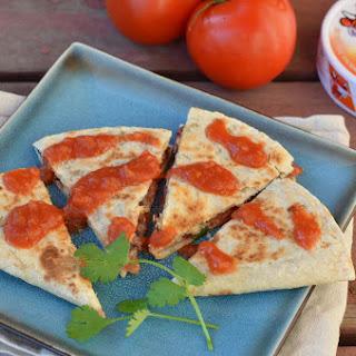 Chipotle Black Bean and Tomato Quesadilla