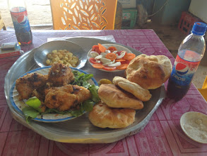 Photo: Lunch time in Dongola