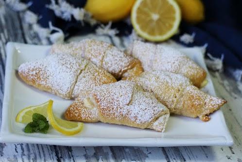 Lemon Cream Cheese Crescents