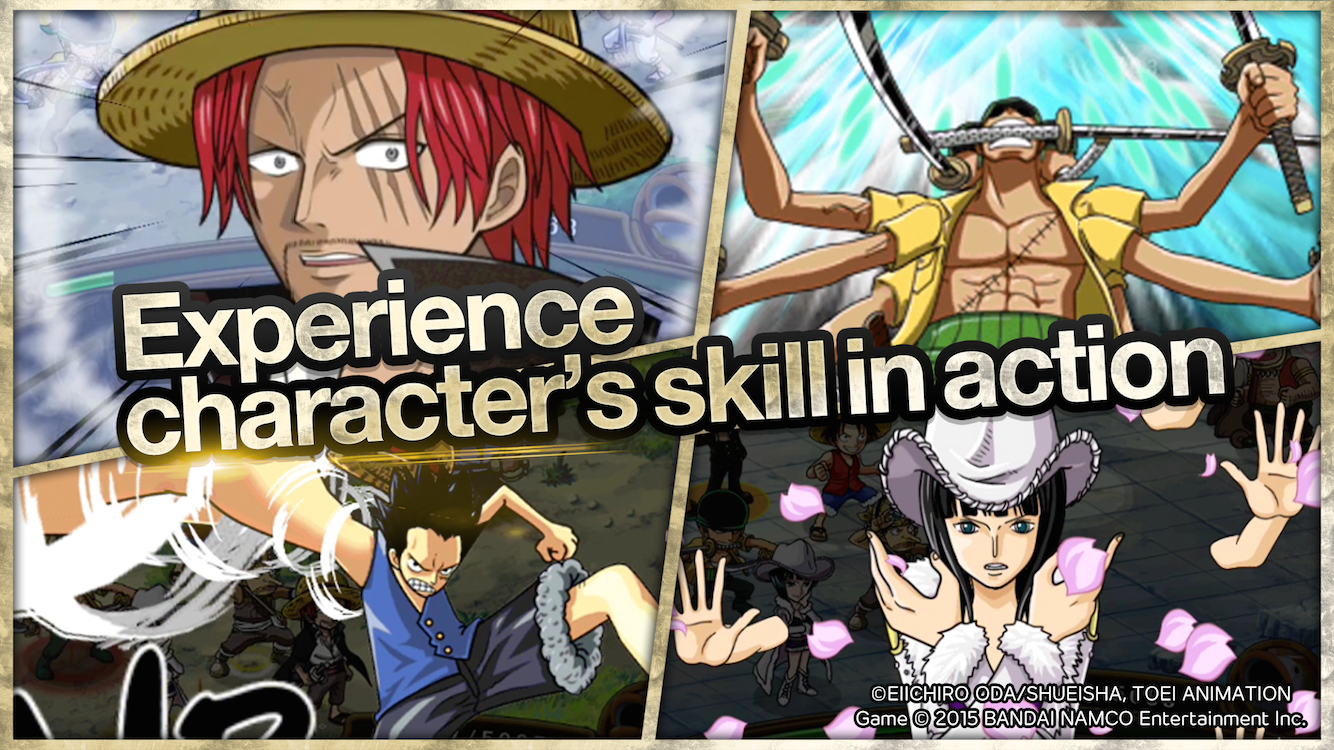 LINE: ONE PIECE TreasureCruise- screenshot