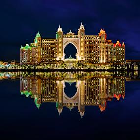 Atlantis by RJ Ramoneda - Buildings & Architecture Architectural Detail ( pwcarcreflections, palm jumeirah, details, dubai, buildings, reflections, hotel, architecture, atlantis )
