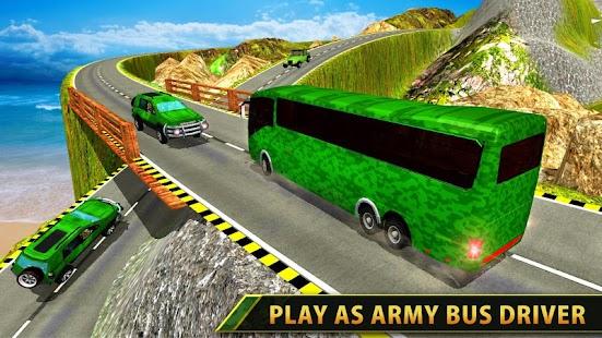 Military Bus Driver : Transporter Game 2018 - náhled