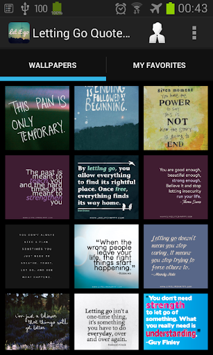 Letting Go Quotes Wallpapers