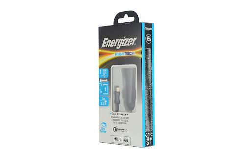 Sạc ô tô Energizer QC 2.0 Kèm Cáp Micro USB - DCA1QHMC3 (Đen)_2