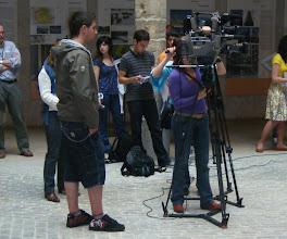 Photo: TV staff?